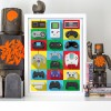 Art-Poster - Legendary Controllers - Olivier Bourdereau
