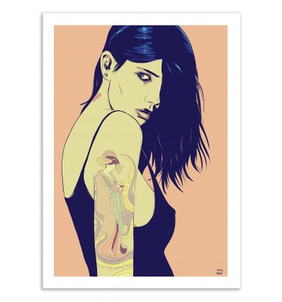 Tattooed Girl - Giuseppe Cristiano