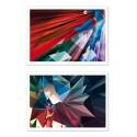 2 Art-Posters 30 x 40 cm - Superman Batman - Liam Brazier