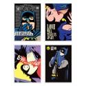 4 Art-Posters 20 x 30 cm - Pop Super Heroes  - Butcher Billy