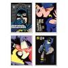 4 Art-Posters 20 x 40 cm - Pop Super Heroes  - Butcher Billy