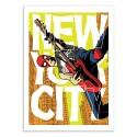 Art-Poster 50 x 70 cm - Spiderman NYC - Butcher Billy