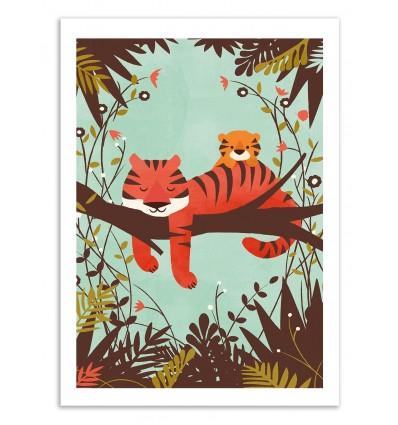 Sleeping Tiger - Jay Fleck