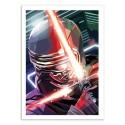 Art-Poster 50 x 70 cm - Kylo Ren - Liam Brazier