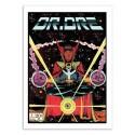 Art-Poster 50 x 70 cm - Dr Dre Comics - David Redon