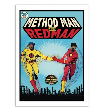 MethodMan Redman Comics - David Redon