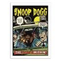 Art-Poster 50 x 70 cm - Snoop Dogg Comics - David Redon