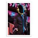 Art-Poster - Daft Neon - Samuel Ho