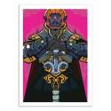 Art-Poster 50 x 70 cm - Ganondorf - Samuel Ho