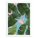 Art-Poster 50 x 70 cm - Wild Flower - 83 Oranges