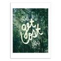 Art-Poster - Get Lost - Leah Flores