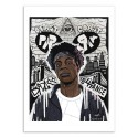 Art-Poster 50 x 70 cm - Joey - Bokkaboom