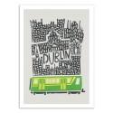 Art-Poster 50 x 70 cm - Dublin - Fox and Velvet