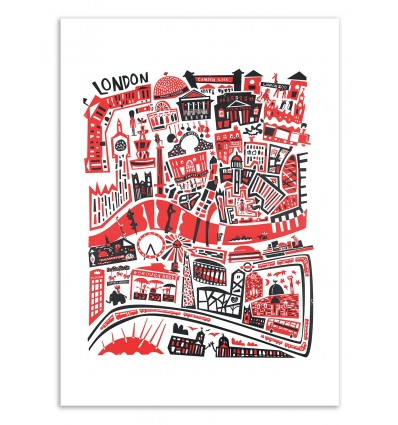 London Map - Fox and Velvet