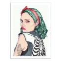 Art-Poster 50 x 70 cm - Emerald Girl - Laura O'Connor