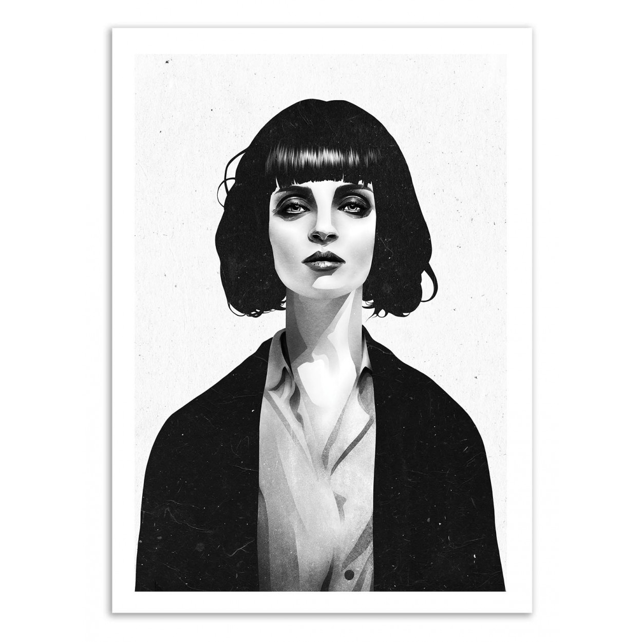 PULP FICTION MOVIE POSTER MIA WALLACE  FILM A3 PRINT IMAGE