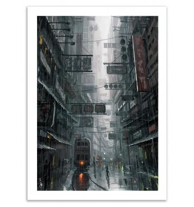 Art-Poster - Hong Kong - Wlop