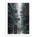 Art-Poster 50 x 70 cm - Hong Kong - Wlop