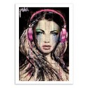 Art-Poster 50 x 70 cm - DJ - Loui Jover