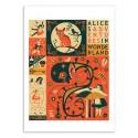 Art-Poster 50 x 70 cm - Alice in Wonderland - Jazzberry Blue