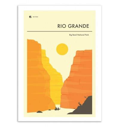 Big Bend Rio Grande - Jazzberry Blue