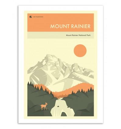 Mount Rainier National Park - Jazzberry Blue
