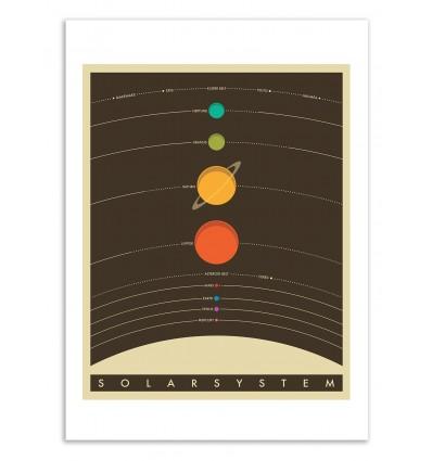 Solar System - Jazzberry Blue
