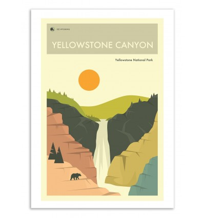 Yellowstone National Park - Jazzberry Blue