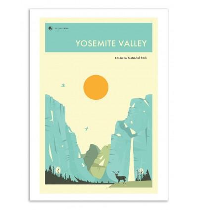 Yosemite National Park - Jazzberry Blue