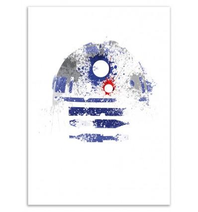 Art-Poster 50 x 70 cm - Astromech Deetoo - Arian Noveir