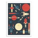 Art-Poster 50 x 70 cm - Space Odyssey - Tracie Andrews