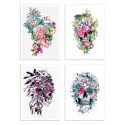 4 Art-Posters 20 x 30 cm - Momento Mori - Riza Peker