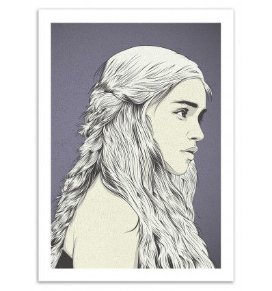 Art-Poster - Mother of dragons - Cranio Dsgn