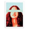 Art-Poster 50 x 70 cm - Komy - Dorian Legret
