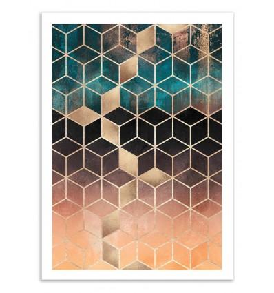 Ombre Dream Cubes - Elisabeth Fredriksson