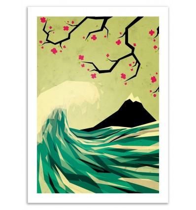 Art-Poster 50 x 70 cm - FALLING IN LOVE - YETILAND