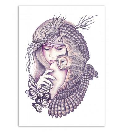 Owl Spirit - Andrea Hrnjak