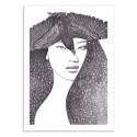 Art-Poster 50 x 70 cm - Soul Sister - Andrea Hrnjak