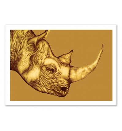The golden Rhino - Ella Mazur