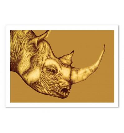 The golden Rhino - Ella Mazur