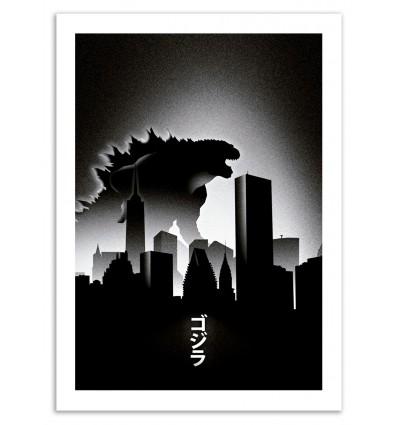 Art-Poster 50 x 70 cm - MonsteR - Arian Noveir