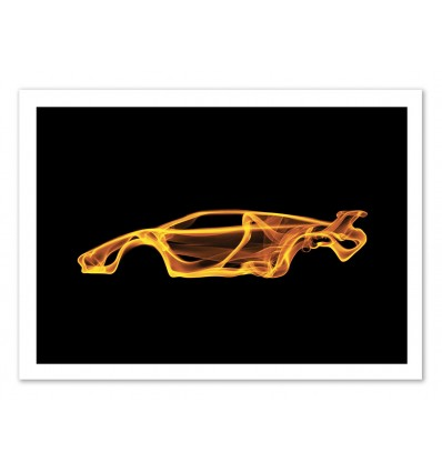 Limited Edition 50 ex. - Lamborghini Countach - Octavian Mielu