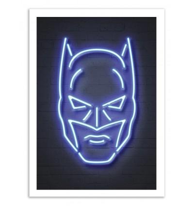 Limited Edition 50 ex. - Batman Neon - Octavian Mielu