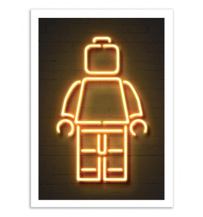 Limited Edition 50 ex. - Lego Neon - Octavian Mielu