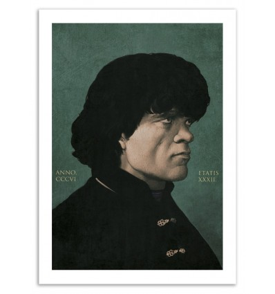Art-Poster 50 x 70 cm - Tyrion - Yuri Shwedoff