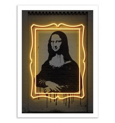 Limited Edition 50 ex. - Mona Lisa - Octavian Mielu