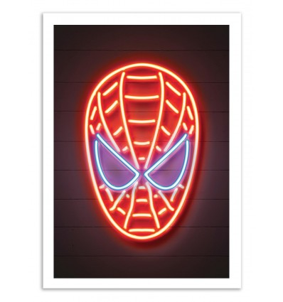 Limited Edition 50 ex. - Spiderman Neon - Octavian Mielu