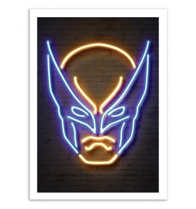 Limited Edition 50 ex. - Wolverine Neon - Octavian Mielu