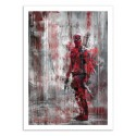 Art-Poster 50 x 70 cm - Deadpool - Wisesnail