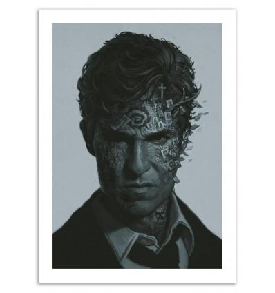 Art-Poster 50 x 70 cm - True Detective - Yuri Shwedoff